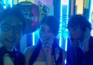 Miss A Suzy With Shin Hyunjoon and Tak Jaehoon