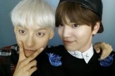 sungjong minhyuk selfie
