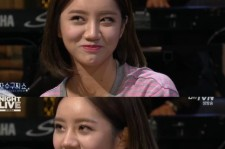 hyeri tears up talking about sister
