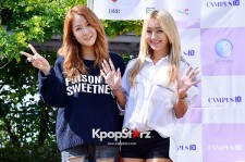 SISTAR's Hyorin and Soyou at Sungshin Women's University 10th Campus Attack