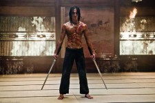 Rain in 'Ninja Assassin'