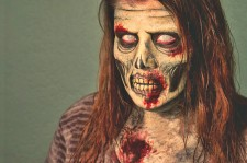 Halloween Look: The Walking Dead Makeup Tutorial