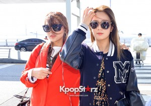 A Pink at ICN Departing to Taiwan for Samsung Charity Concert