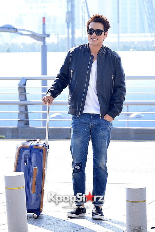 Joo Sang Wook at ICN Departing to Thailand for Cunning Single Lady Promotionskey=>2 count13