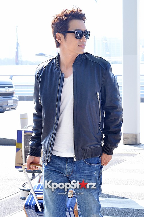 Joo Sang Wook at ICN Departing to Thailand for Cunning Single Lady Promotionskey=>3 count13