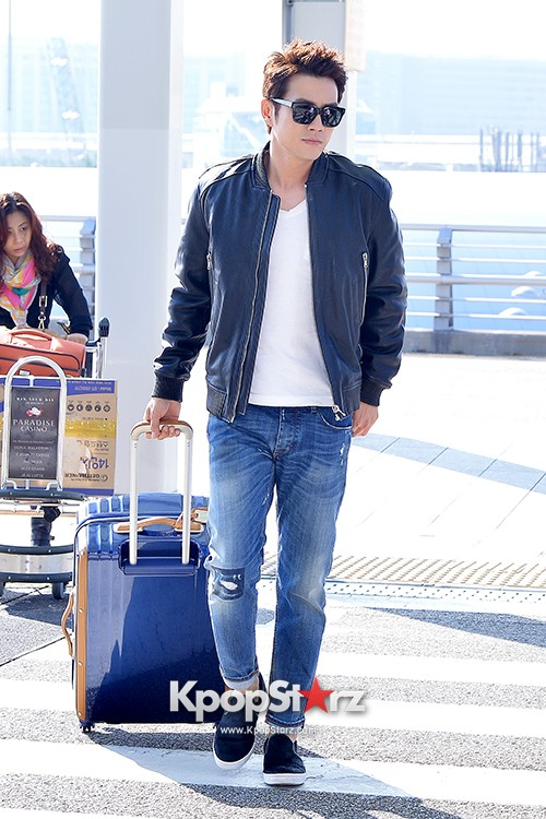 Joo Sang Wook at ICN Departing to Thailand for Cunning Single Lady Promotionskey=>4 count13