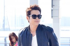 Joo Sang Wook at ICN Departing to Thailand for Cunning Single Lady Promotions