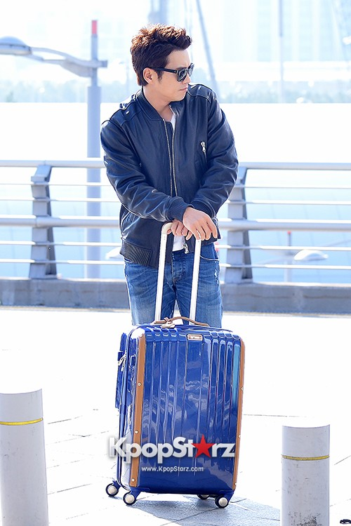 Joo Sang Wook at ICN Departing to Thailand for Cunning Single Lady Promotionskey=>7 count13