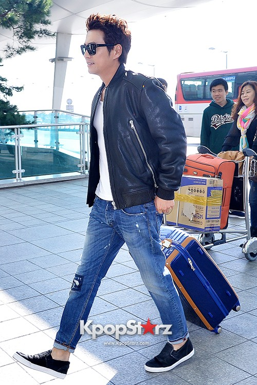 Joo Sang Wook at ICN Departing to Thailand for Cunning Single Lady Promotionskey=>9 count13