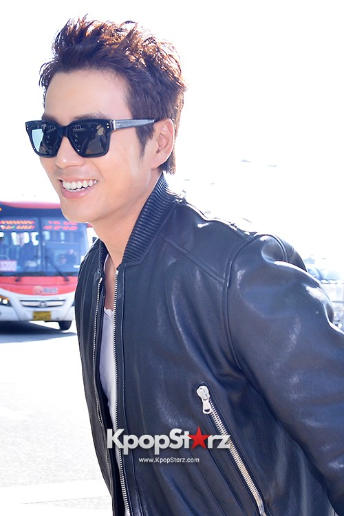 Joo Sang Wook at ICN Departing to Thailand for Cunning Single Lady Promotionskey=>10 count13