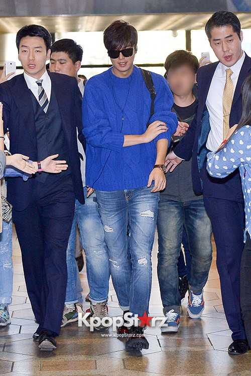 Lee Min Ho at Gimpo Airport Heading to Japan for RE:MINHO Global Tour key=>1 count7