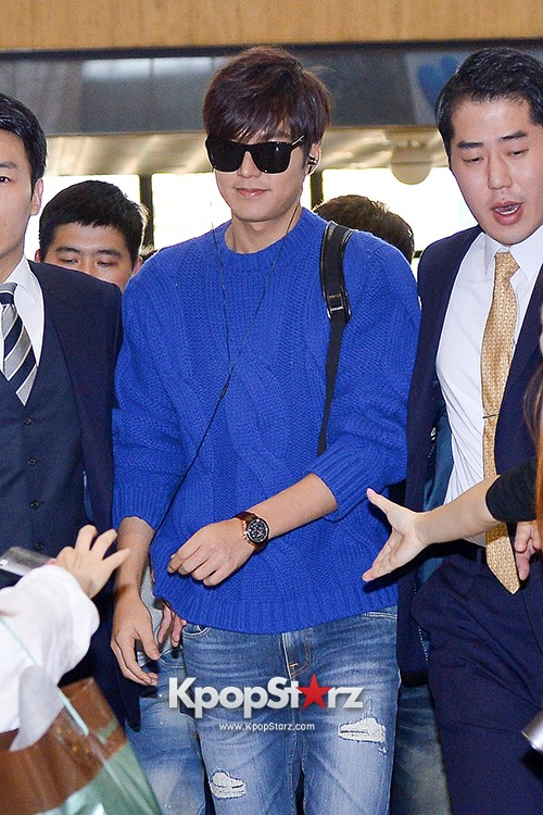 Lee Min Ho at Gimpo Airport Heading to Japan for RE:MINHO Global Tour key=>2 count7