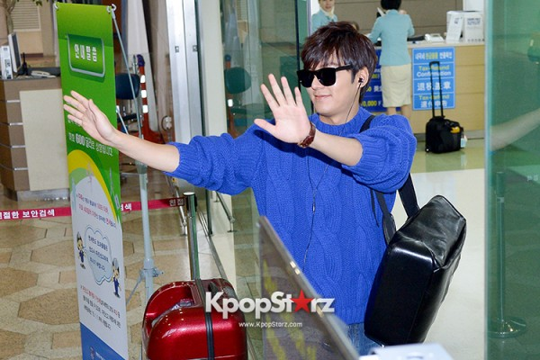 Lee Min Ho at Gimpo Airport Heading to Japan for RE:MINHO Global Tour key=>5 count7