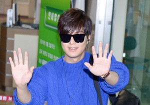 Lee Min Ho at Gimpo Airport Heading to Japan for RE:MINHO Global Tour