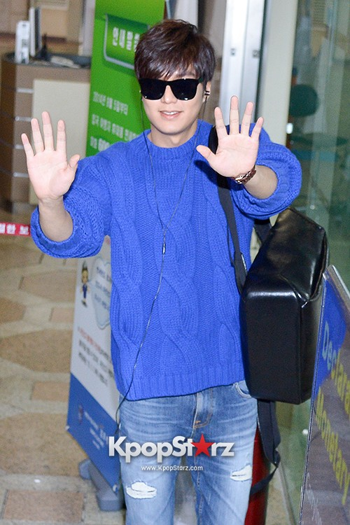 Lee Min Ho at Gimpo Airport Heading to Japan for RE:MINHO Global Tour key=>0 count7