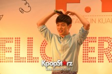 Eric Nam at Hello! Eric Nam Fan Meeting in Malaysia - Oct 11, 2014 [PHOTOS]
