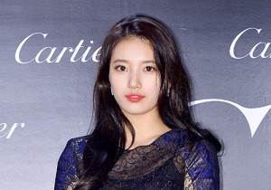 Miss A's Suzy Attends Panthere de Cartier 100th Anniversary Party