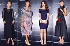 Kim Nam Joo, Byun Jung Soo, Yoon Eun Hye and Ha Ji Won Attend Panthere de Cartier 100th Anniversary Party