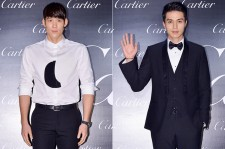 Park Tae Hwan and Lee Dong Wook Attend Panthere de Cartier 100th Anniversary Party
