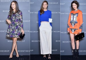 Ko So Young, Gong Hyo Jin and Hwang So Hee Attend BoonTheShop's Openin Event
