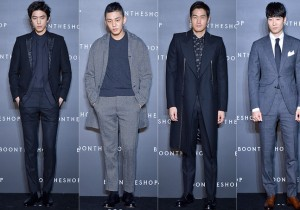 Sung Joon, Yoo Ah In, Yoo Ji Tae and Yoon Han Attend BoonTheShop's Openin Event