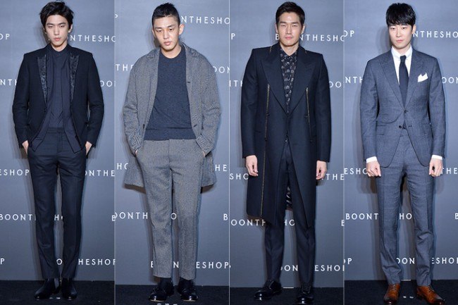 Sung Joon, Yoo Ah In, Yoo Ji Tae and Yoon Han Attend BoonTheShop's Openin Event key=>0 count34
