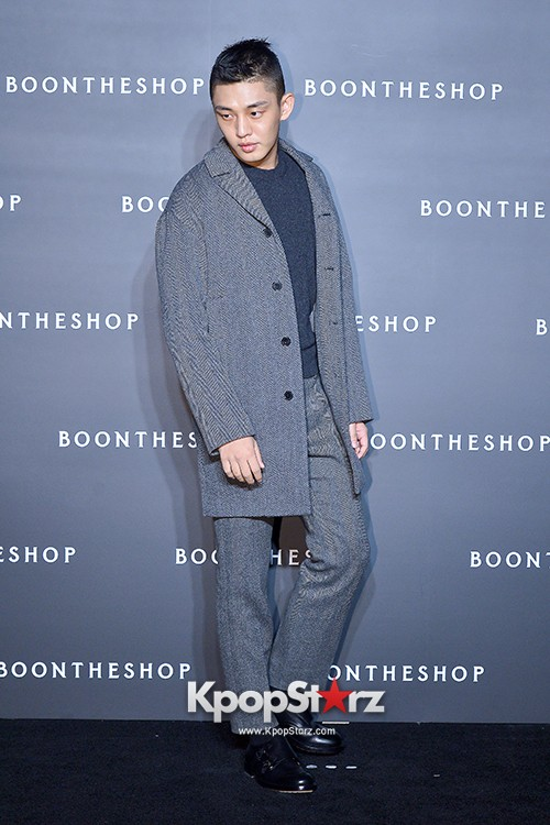Sung Joon, Yoo Ah In, Yoo Ji Tae and Yoon Han Attend BoonTheShop's Openin Event key=>12 count34
