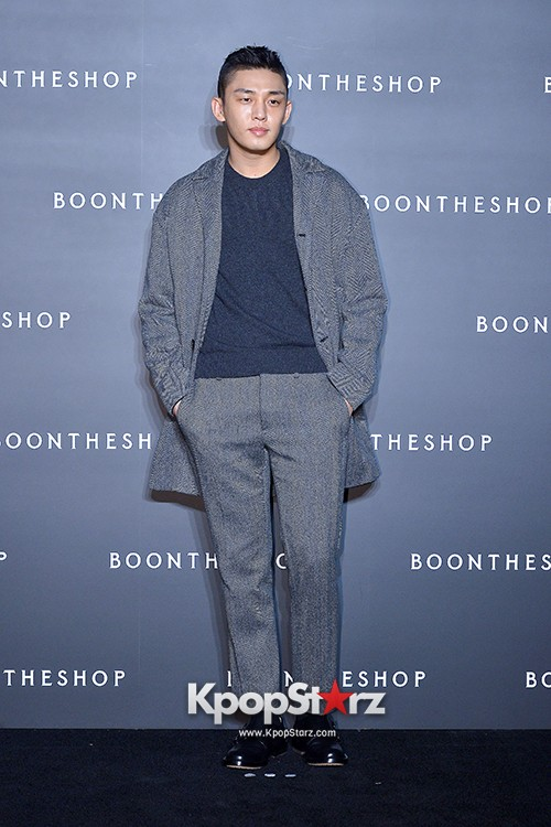 Sung Joon, Yoo Ah In, Yoo Ji Tae and Yoon Han Attend BoonTheShop's Openin Event key=>14 count34