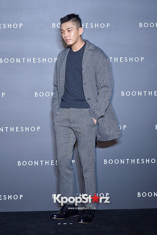 Sung Joon, Yoo Ah In, Yoo Ji Tae and Yoon Han Attend BoonTheShop's Openin Event key=>18 count34