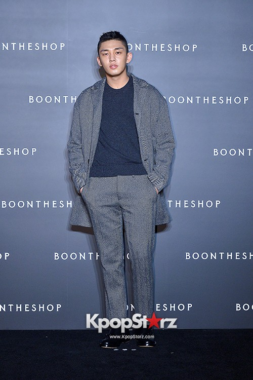 Sung Joon, Yoo Ah In, Yoo Ji Tae and Yoon Han Attend BoonTheShop's Openin Event key=>19 count34