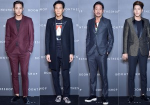 Lee Soo Hyuk, Lee Jung Jae, Ha Jung Woo and Hong Jong Hyun Attend BoonTheShop's Openin Event