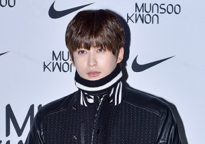 Block B's Jaehyo at 2015 SS Seould Fashion Week, Munsoo Kwon