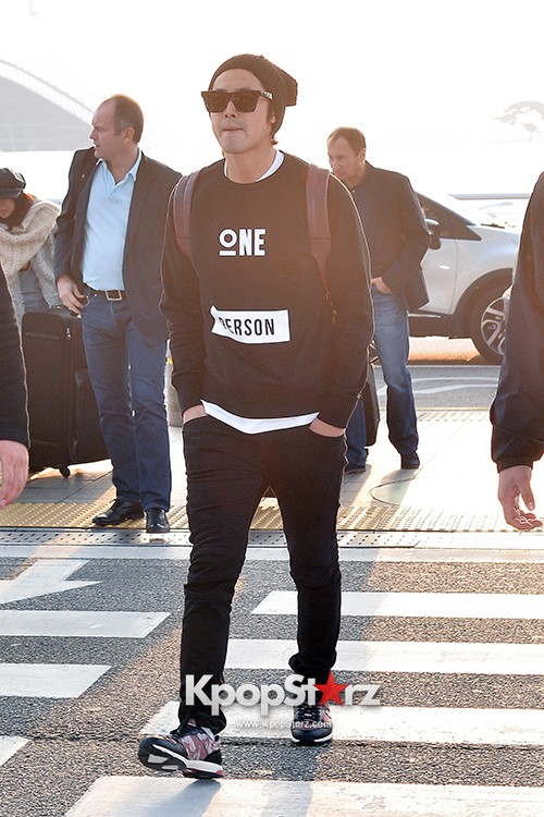 TVXQ's U-Know Yunho at Incheon Airport Heading to Shanghai key=>5 count10