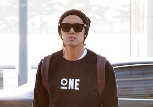 TVXQ's U-Know Yunho at Incheon Airport Heading to Shanghai