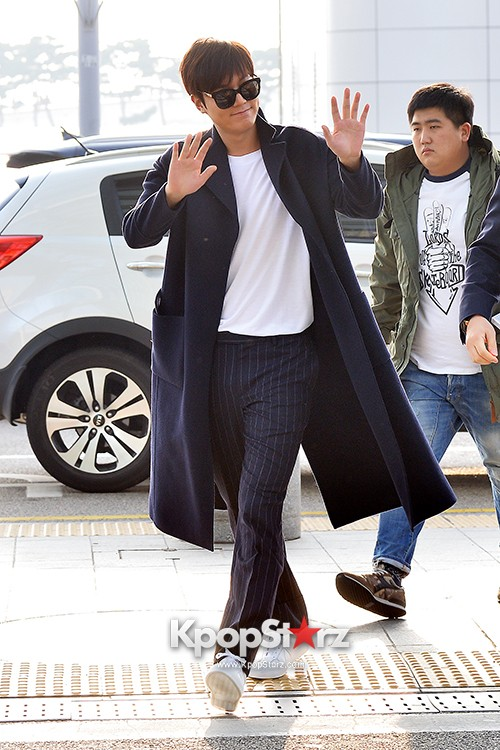 Lee Min Ho at Incheon Airport Heading to Qingdaokey=>3 count14