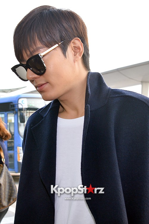Lee Min Ho at Incheon Airport Heading to Qingdaokey=>11 count14