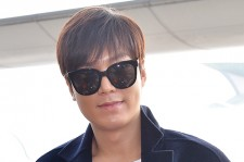 Lee Min Ho at Incheon Airport Heading to Qingdao