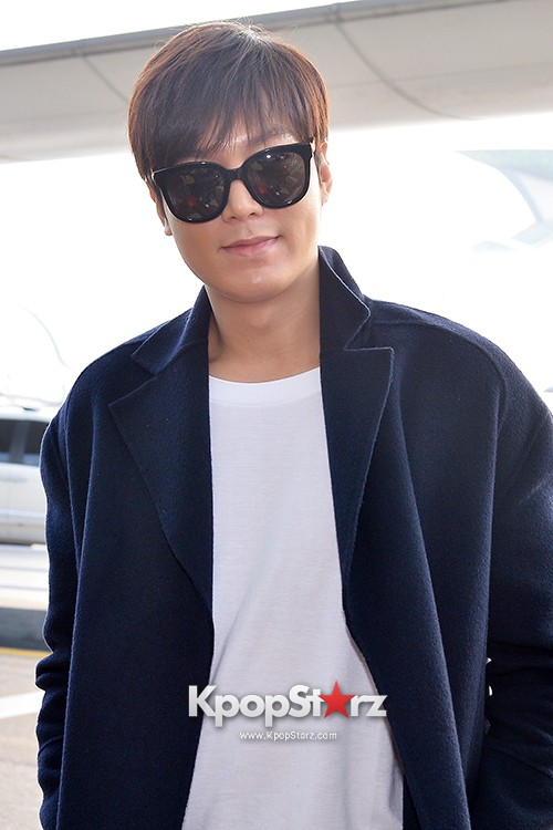 Lee Min Ho at Incheon Airport Heading to Qingdaokey=>0 count14