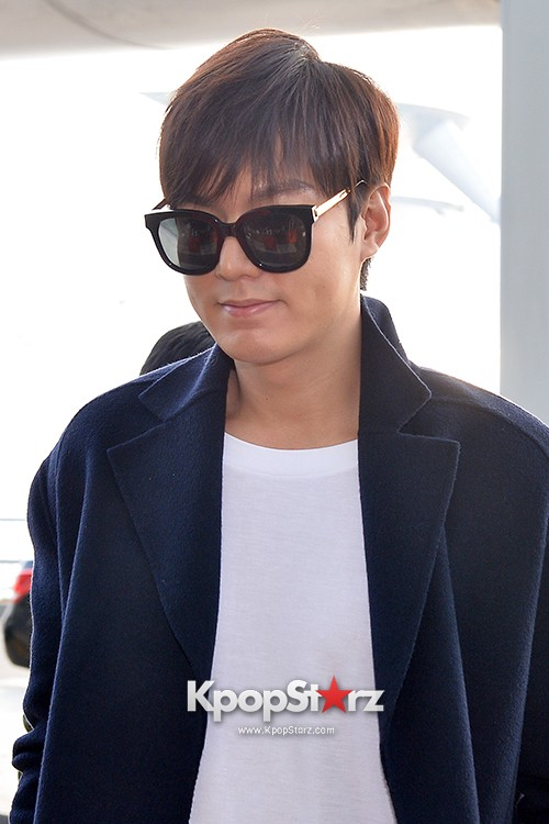 Lee Min Ho at Incheon Airport Heading to Qingdaokey=>13 count14