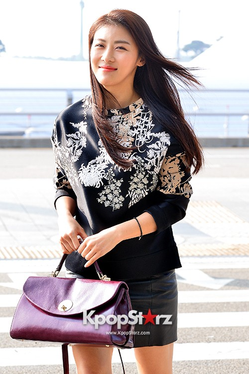 Ha Ji Won at Incheon Airport Heading to Taiwankey=>0 count15