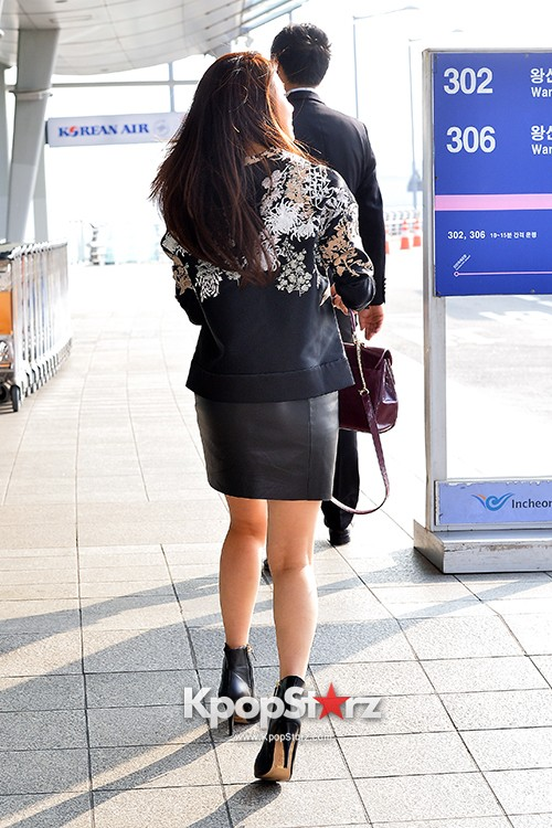 Ha Ji Won at Incheon Airport Heading to Taiwankey=>10 count15