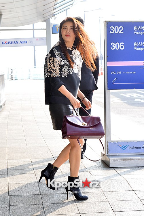 Ha Ji Won at Incheon Airport Heading to Taiwankey=>12 count15