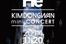 Kim Dong Wan Holds A Mini Concert With Fierce Ticket Sales Competition
