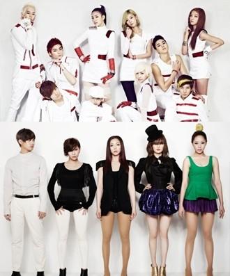 Hybrid Idol Groups