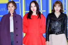 Nana, Min Hyo Rin and Son Dam Bi at Lucky Chouette 2015 S/S Collection Launching Event