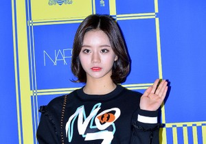 Girl's Day's Hye Ri at Lucky Chouette 2015 SS Collection Launching Event