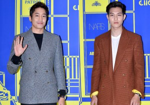 Erik and Lee Jong Hyun at Lucky Chouette 2015 S/S Collection Launching Event