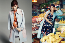 Park Shin Hye in Elle Magazine and Jung So Min in Allure Magazine