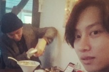 heechul eating with yong junhyung