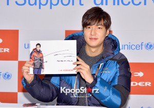 Lee Min Ho Attends Eider Fansign Event